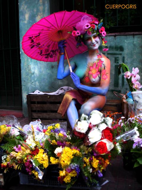 Bodypaint en Buenos Aires