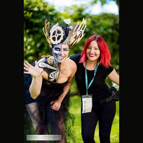 world bodypaint festival - facepaint