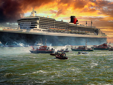 Photographie d'art du Queen Mary 2 en vente/Art photography of the Queen Mary 2 for sale