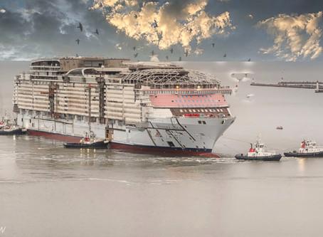 Premier bain pour le Wonder of the Seas ce samedi 05 Septembre 2020