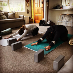Valley springs yoga class
