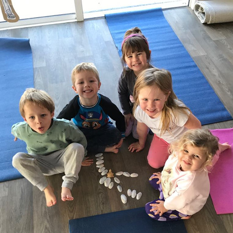 Kids yoga fun