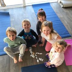 Kids yoga fun