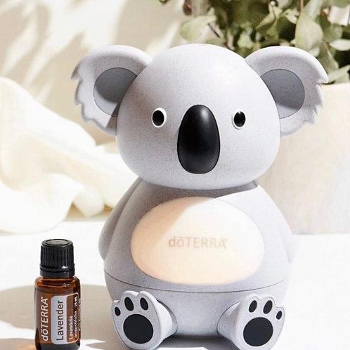 Koala Diffuser and Lavender essential oil
