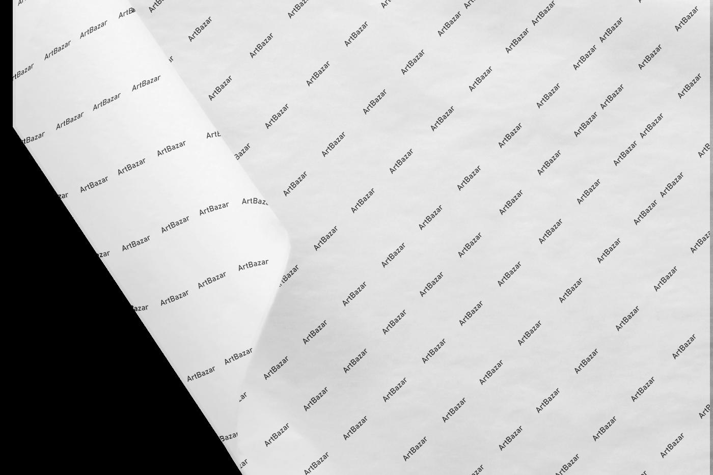 Coala de hartie printata la o culoare