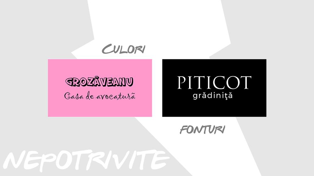 Fonturi si culori