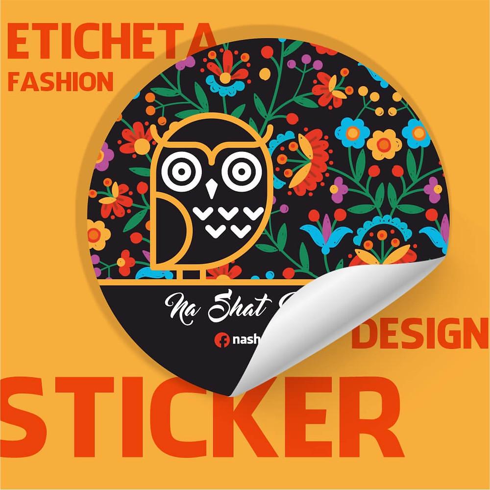 Sticker-personalizat