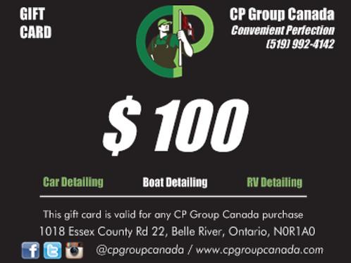 $100 CP Gift Card