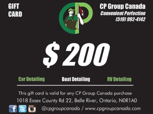 $200 CP Gift Card