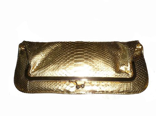 Harlem Gold Clutch