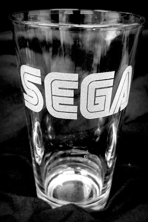 Pint Glass Inspired by SEGA