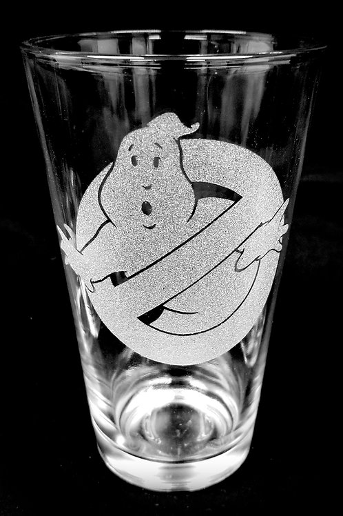Pint Glass Inspired by Ghostbusters