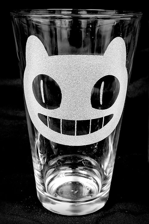 Pint Glass Inspired by Steven Universe Cookie Cat