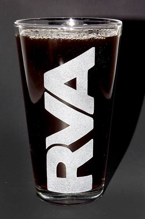 RVA Richmond VA Vertical Pint Glass