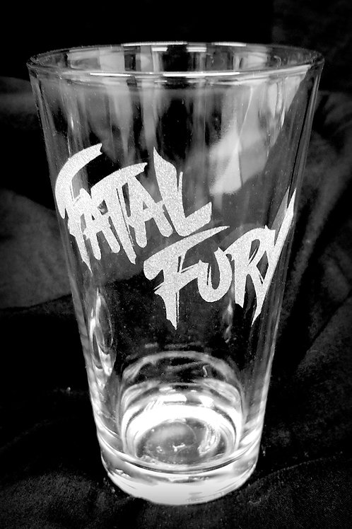 Pint Glass Inspired by Fatal Fury