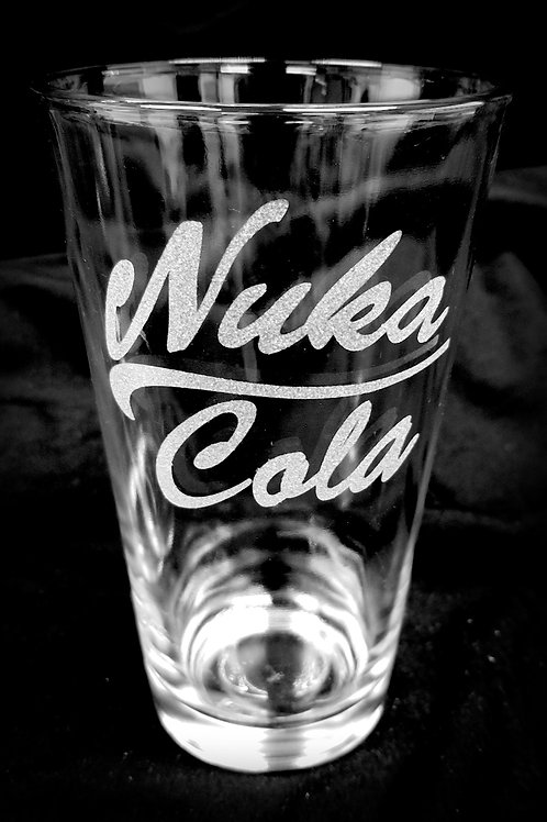 Pint Glass Inspired by Fallout Nuka Cola