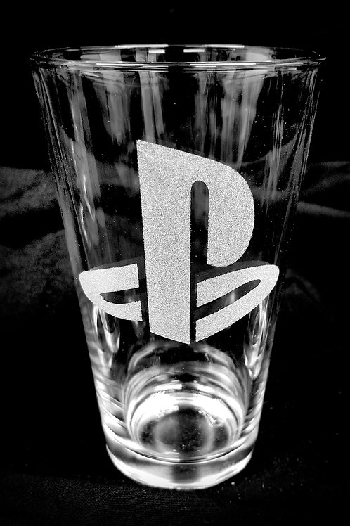 Pint Glass Inspired by Playstation