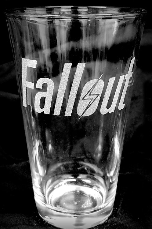 Pint Glass Inspired by Fallout