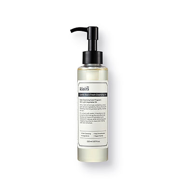 KLAIRS - Gentle Black Fresh Cleansing Oil