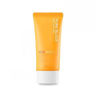 A'PIEU - Pure Block Natural Daily Sun Cream SPF45 PA+++