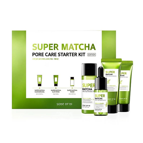 SOME BY MI - Super Matcha Pore Care Starter Kit