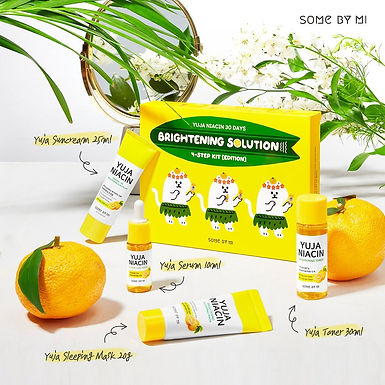 SOME BY MI - Yuja Niacin 30 Days Brightening Solution 4-Step Kit