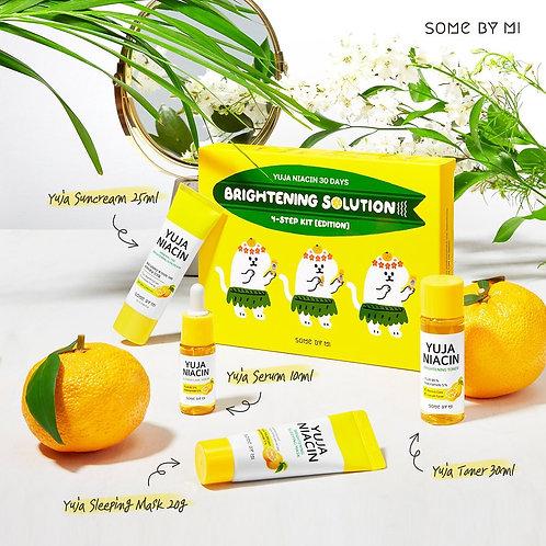 SOME BY MI - Yuja Niacin 30 Days Brightening Solution 4-Step Kit