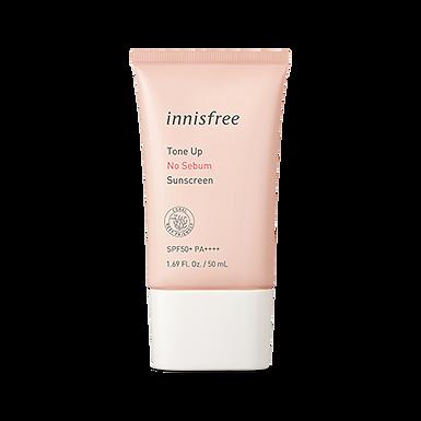 INNISFREE - Tone Up No Sebum Sunscreen SPF50+ PA++++