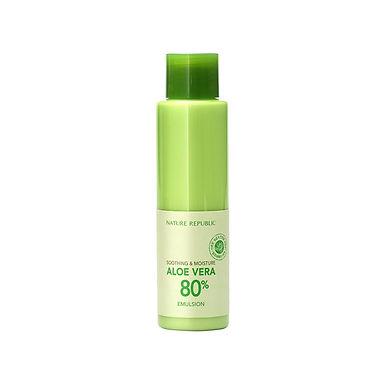 NATURE REPUBLIC - Soothing & Moisture Aloe Vera 80% Emulsion