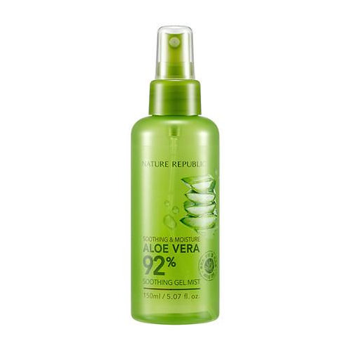 NATURE REPUBLIC - Soothing & Moisture Aloe Vera 92% Soothing Gel Mist