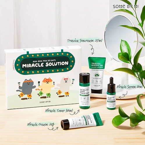 SOME BY MI - AHA.BHA.PHA 30 Days Miracle Solution 4-Step Kit