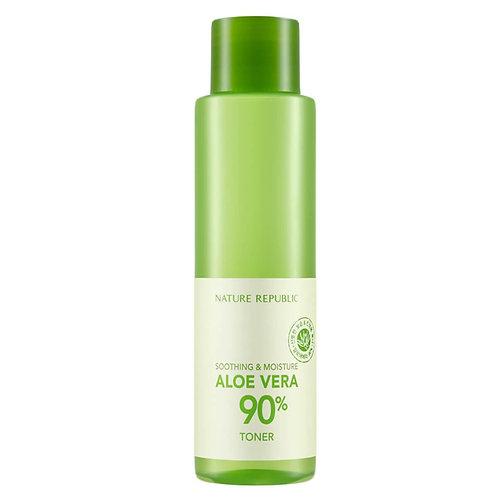 NATURE REPUBLIC - Soothing & Moisture Aloe Vera 90% Toner