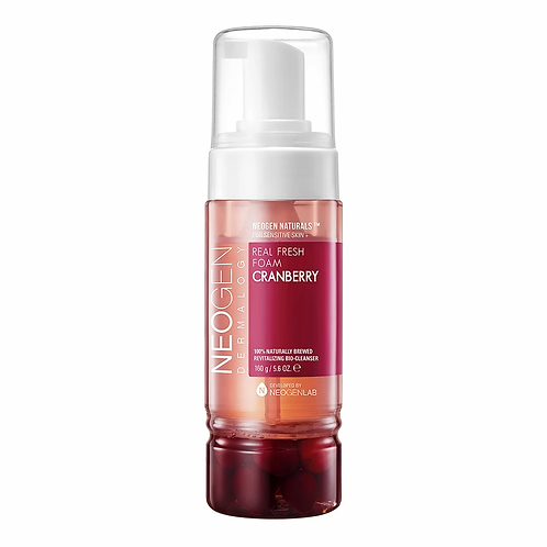 NEOGEN DERMALOGY - Real Fresh Foam Cleanser Cranberry