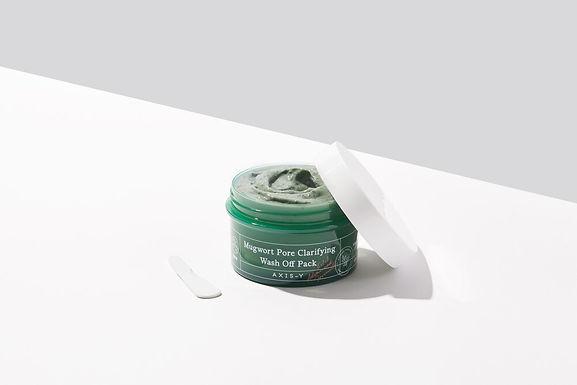 AXIS-Y - Mugwort Pore Clarifying Wash Off Pack
