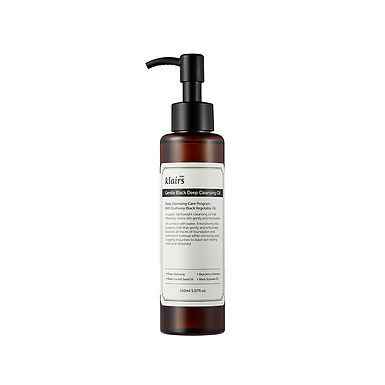 KLAIRS - Gentle Black Deep Cleansing Oil