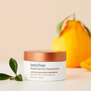 INNISFREE - Brightening Pore Sleeping Mask