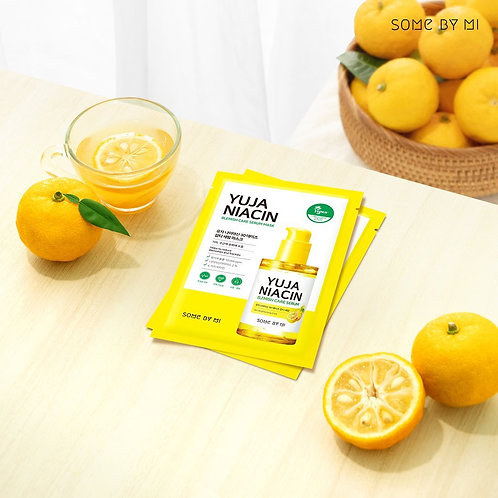 SOME BY MI - Yuja Niacin Brightening Care Serum Mask (Sheet)