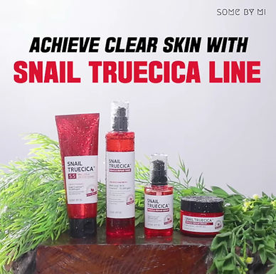 SOME BY MI - Snail Truecica Complete Package: Cleanser + Toner + Serum + Cream