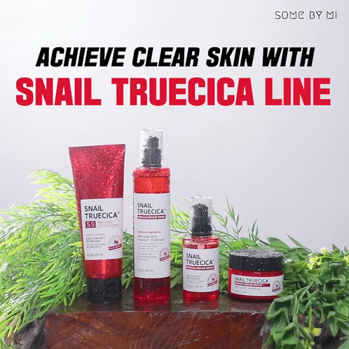 SOME BY MI - Snail Truecica Complete Package: Cleanser + Toner + Serum + Cream