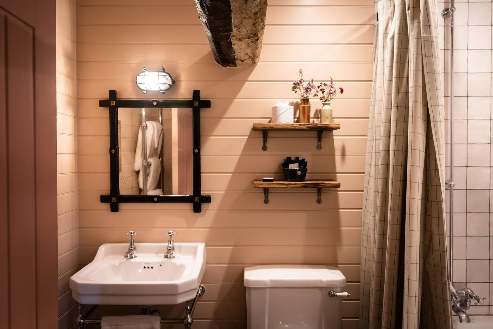 The Stable bathroom