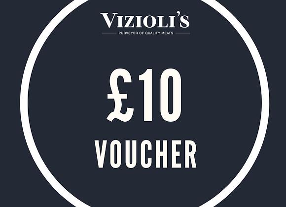 £10 Vizioli's Gift Voucher