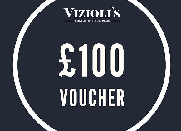 £100 Vizioli's Gift Voucher