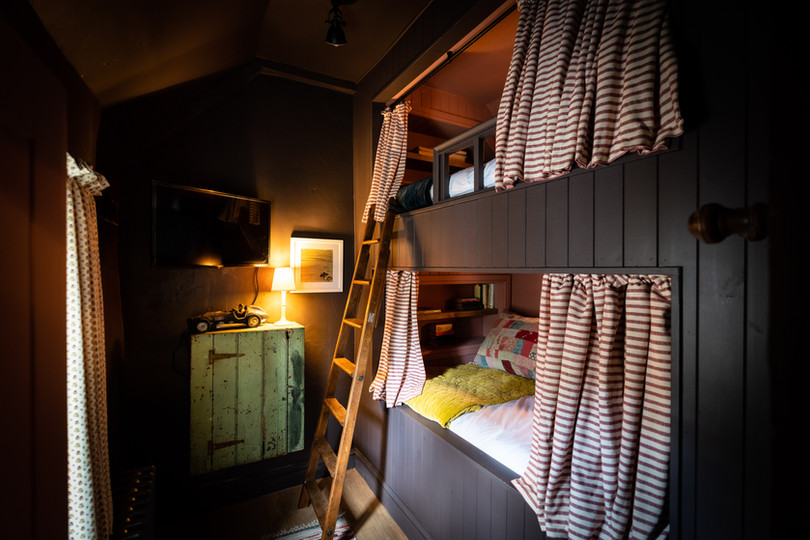 The Stable bunk bed room