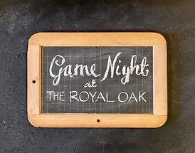 Supper Club at The Royal Oak