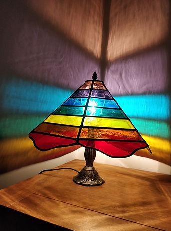 Chakra tiffany style lamp