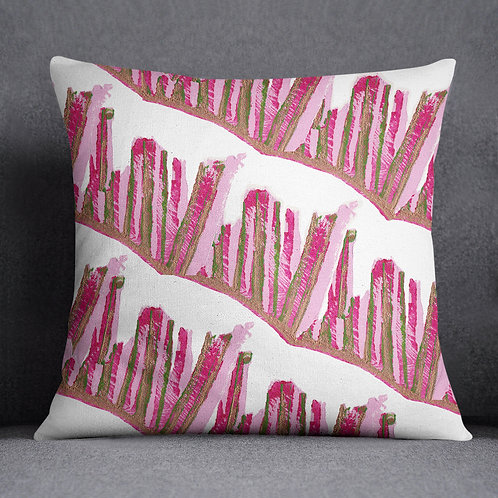 Beetroot Inspired Cushion_Stalks