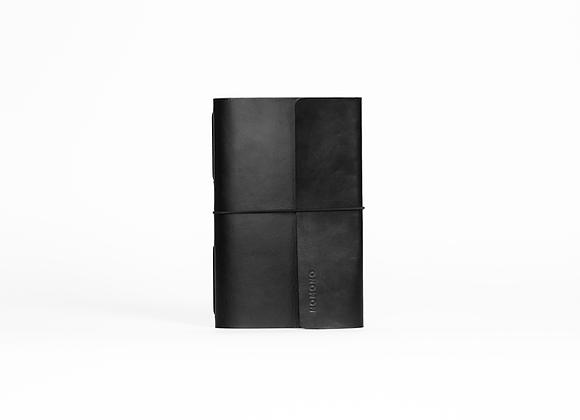 Traveler's Notebook Solapa   Negro