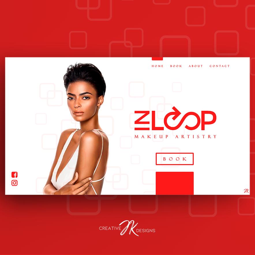 INLOOP MAKEUP WEB Screen - CreativeJKDes