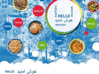 hello - مرحبا - marhaba - salaam