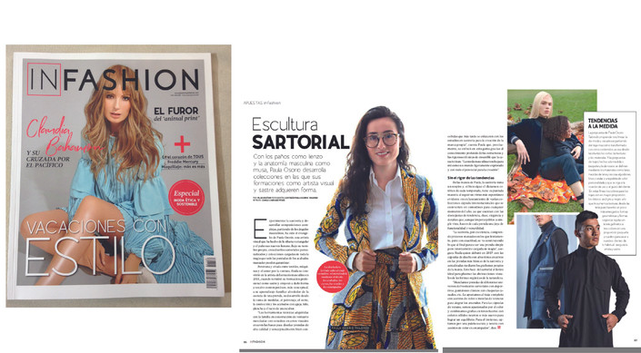 REVISTA INFASHION - Escultura SARTORIAL